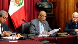 Denuncian posible intención de blindar a Omonte y Díaz Dios en Comisión de Ética