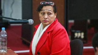 Juez evalúa pedido de prisión para madre de Gerald Oropeza