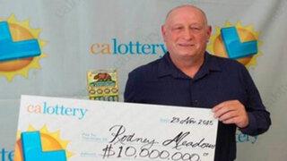 ¿Existe la suerte? Este hombre ganó la lotería dos veces en un mismo día