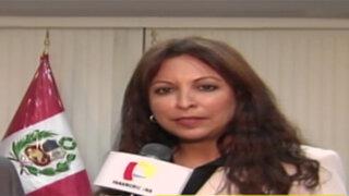 Patricia Chirinos responde a acusaciones sobre crimen de Wilbur Castillo