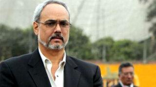 Manuel Burga fue detenido y trasladado a la Dirincri