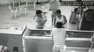 Mujeres utilizan a niña para robar celulares en Tumbes