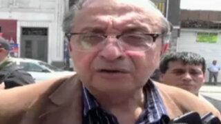 Daniel Mora evalúa abandonar Perú Posible tras diferencias con Toledo