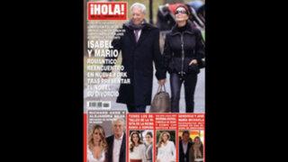 Nueva York: Mario Vargas Llosa se reencuentra con Isabel Preysler