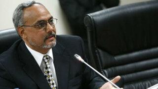 Ejecutivo aprueba extradición de Manuel Burga a Estados Unidos
