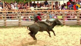 Rodeo en Oxapampa: curioso torneo norteamericano llegó a la selva peruana