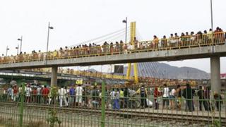 Peatones temen colapso de puente 'Rayito de sol'