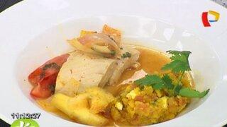 Pasos para cocinar un exquisito sudado de pescado acompañado de malarrabia