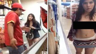 México: mujer que se desnudó en supermercado volvió a hacer lo mismo en otra tienda