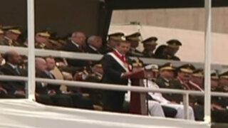 Ollanta Humala justificó su levantamiento militar ante miembros del Ejército