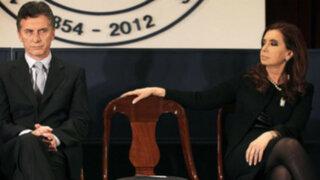 Diferencias entre Macri y Fernández opacan toma de mando en Argentina