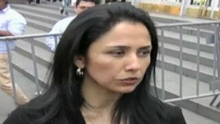 Congresistas piden al Ministerio Público analizar vínculos de Nadine Heredia