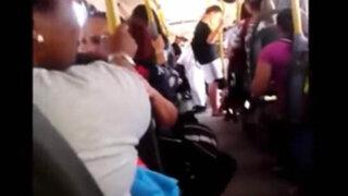 VIDEO: se disfrazan de árabes y asustan a pasajeros de bus con bomba falsa