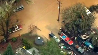 EEUU: deslizamientos y carreteras bloqueadas por lluvias en Oregon