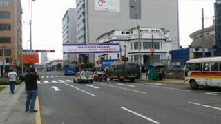 Reajustan desvíos por by pass de avenida 28 de Julio