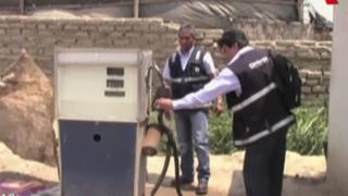 Osinergmin clausura grifos clandestinos en Santa Rosa de Quives