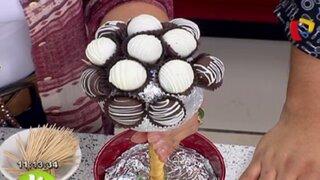 Engríe a tu familia con unas deliciosas trufas de chocolate preparadas por ti