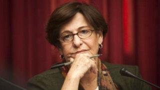 Susana Villarán no acudirá a citación en Congreso por problemas de salud