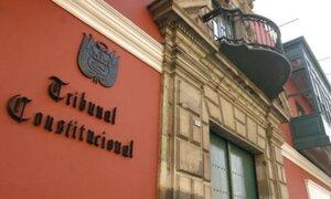 Piden que Tribunal Constitucional declare la vacancia de Eloy Espinosa