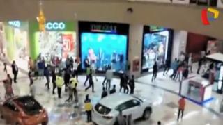 Independencia: registran instantes de pánico por incidentes en MegaPlaza