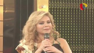 Gisela Valcárcel recibió homenaje en 'Porque hoy es Sábado con Andrés'