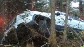 ¿Un ángel de la guarda salvó la vida de un conductor? Familiares dicen que sí y muestran prueba