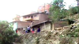 Huánuco: niñas de 1 y 7 años mueren aplastadas por pared de su casa