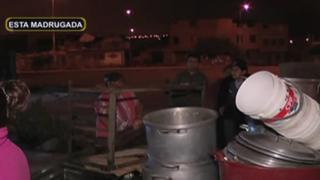Vecinos desalojan comedor popular en Villa El Salvador