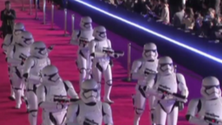 VIDEO: así se vivió el avant premiere de Star Wars: el despertar de la fuerza