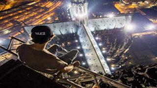 Estas fotos de famosos monumentos fueron tomadas ilegalmente y el resultado fue espectacular