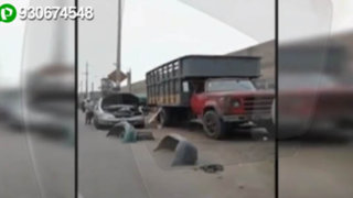 Mecánicos informales invaden pistas y veredas en Breña