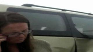 Conductora estadounidense dejó graves a dos niñas y fugó a su país