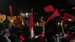 Bloque Deportivo: el banderazo 'rojinegro' en vísperas al Melgar vs. Cristal