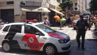 Brasil: ladrones toman a 30 personas como rehenes en joyería