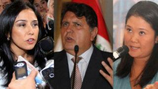 Fiscalía de Lavado de Activos abre investigación a Gana Perú, Apra y Fuerza Popular