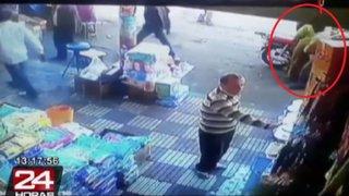 Marruecos: mujer le da su merecido a sujeto que le tocó el trasero