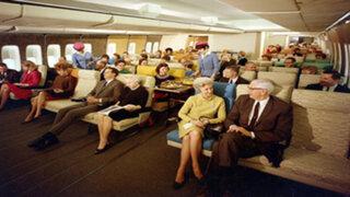 Estas 12 fotos demuestran que viajar en avión en los años 70 era una experiencia increíble