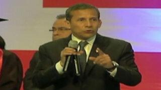 Humala exige a candidatos presidenciales continuar Beca 18