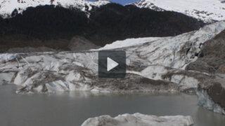 Un impactante video de 30 segundos resume la dramática situación de los glaciares