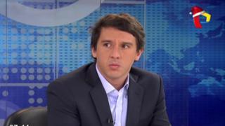 """Mijael Garrido Lecca: """"Villarán debió sumarse al esfuerzo de Verónika Mendoza"""""""