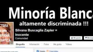 Crean página de Facebook a favor de agresora de policía Silvana Buscaglia