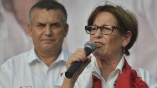 Susana Villarán confía en inocencia de Urresti en el caso Bustíos