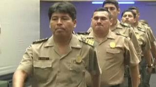 Condecoran a policías que capturaron a miembros de banda de 'Caracol'