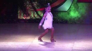 Niña peruana de 6 años ganó concurso mundial de salsa