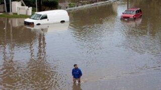 Miles de personas son evacuadas por inundaciones en América Latina