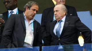 Bloque Deportivo: sancionan a Blatter y Platini por escándalo de corrupción