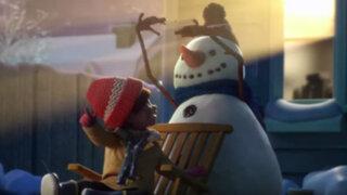 """""""Lily y el muñeco de nieve"""": el emotivo spot por Navidad que tocará tu corazón"""