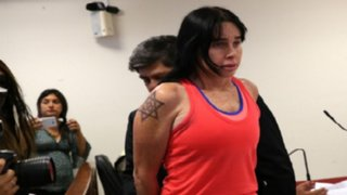 Mujer que agredió a policía fue trasladada a carceleta de Palacio de Justicia