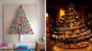 FOTOS: 10 impresionantes árboles de Navidad que jamás se te hubieran ocurrido