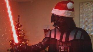 Darth Vader 'Grinch' amenaza con arruinar las celebraciones por Navidad
